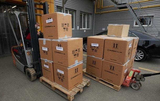 Китай передав Україні другу партію гуманітарної допомоги