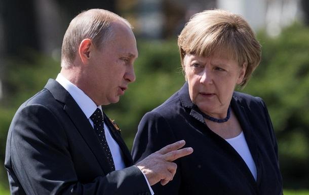 Путин и Меркель обсудили выполнение мер  Минска-2
