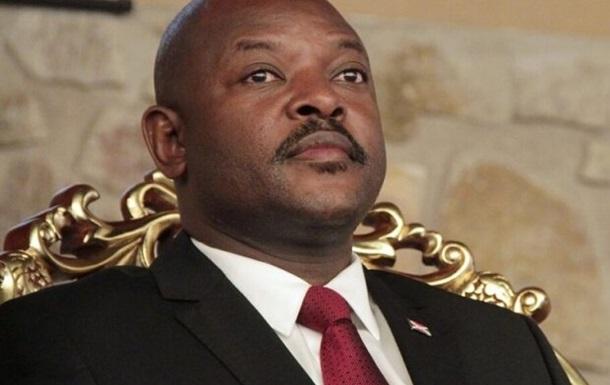 В Африке умер 55-летний президент Бурунди