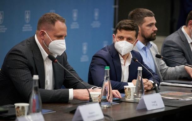 Зеленский на встрече с бизнесменами Черниговщины позвонил Петрашко