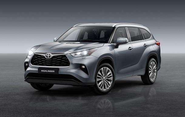 Новий Toyota Highlander вже в наявності
