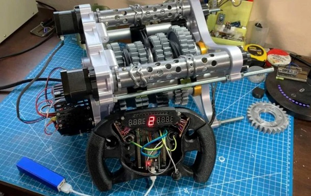 Створена коробка передач боліда F1 на 3D-принтері