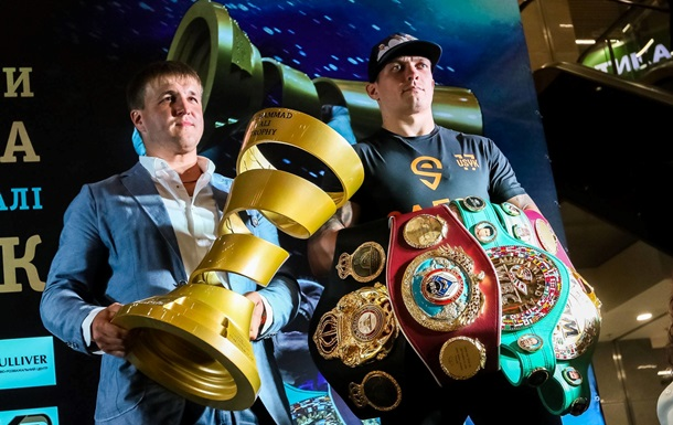 Красюк намерен как можно скорее организовать Усику бой за титул чемпиона в супертяжах