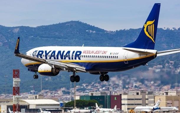 Ryanair начал продавать билеты на летние рейсы из Украины в ЕС