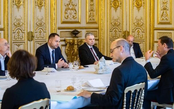 Донбасс на повестке дня в Париже