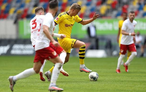 Холанд вирвав перемогу для Боруссії на 95-й хвилині