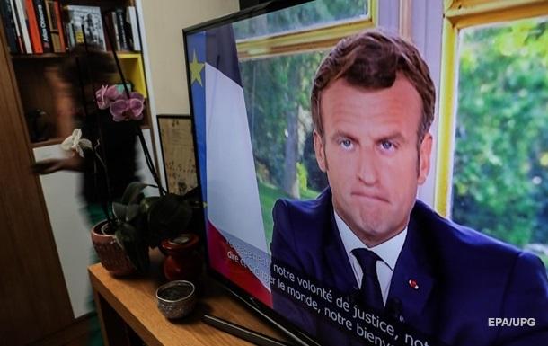 Макрон оголосив про першу перемогу над коронавірусом у Франції