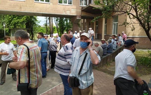 В Харькове продолжают протестовать чернобыльцы