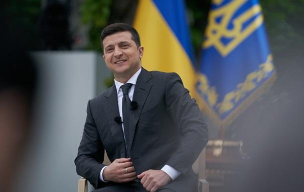 В ОП рассказали о подарках Зеленскому за год президентства