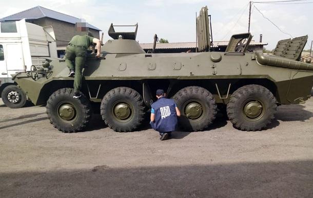На Донбасі знайшли викрадений п ять років тому БТР