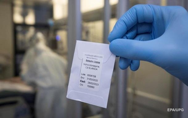 У США заборонили гідроксихлорохін від COVID
