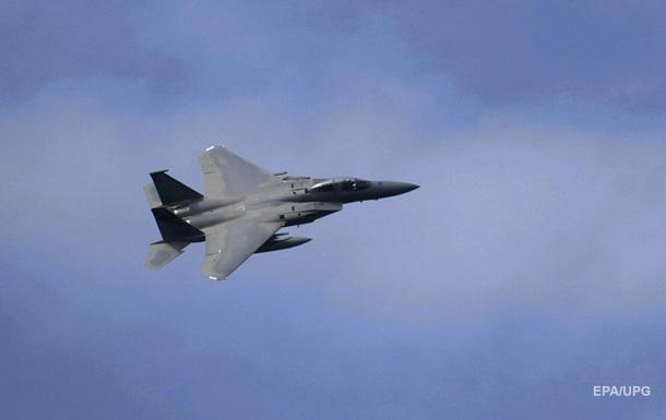 В Северном море нашли тело пилота упавшего F-15