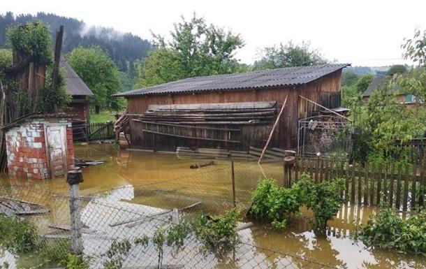 Буковину затопило через тривалі зливи