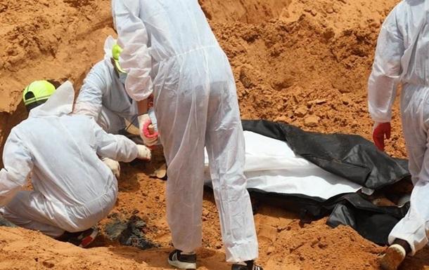 У Лівії виявили вісім свіжих братських могил