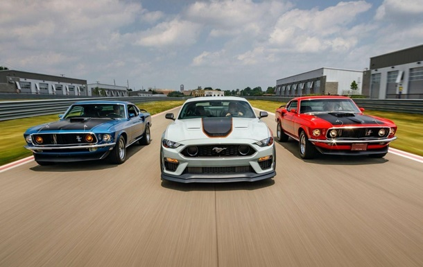 Ford презентовал 525-сильный Mustang Mach 1