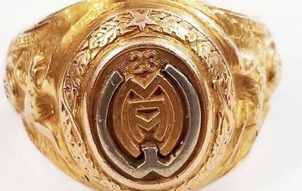 Американец нашел потерянное почти 100 лет назад золотое кольцо