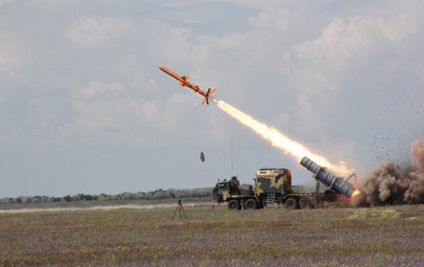 В Украине испытали комплекс Нептун с боевой частью