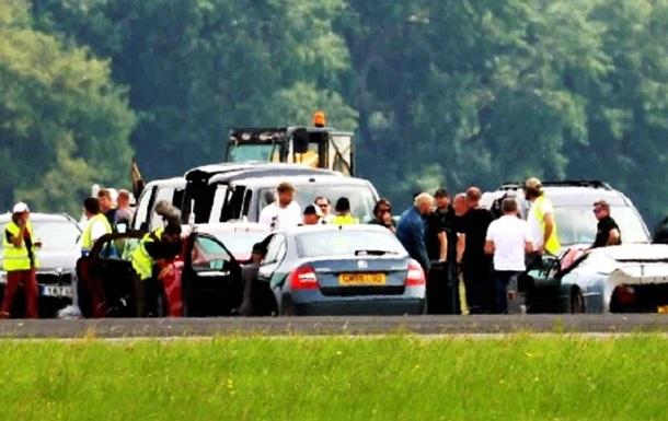 Ведучий Top Gear потрапив в аварію на Lamborghini