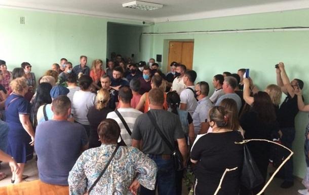 На Одещині підприємці увірвалися в РДА