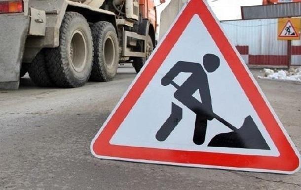 В Киеве ограничат движение по Воздухофлотскому мосту