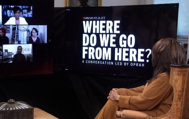 Інтерв ю з чорношкірими лідерами про громадянські протести в США на Discovery