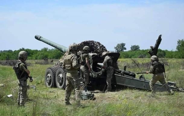 Артилеристи ВМС провели навчання