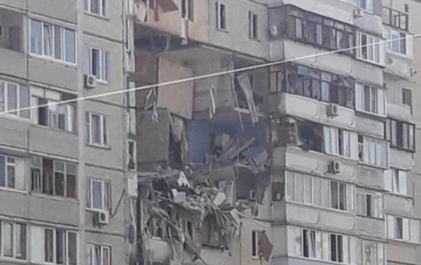 Взрыв в Киеве: обвалилось несколько квартир