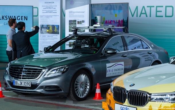 BMW и Mercedes приостановили совместную разработку беспилотных авто