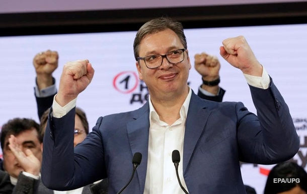 Выборы в Сербии: у партии президента абсолютное большинство
