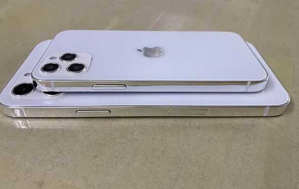 Появились фото iPhone 12