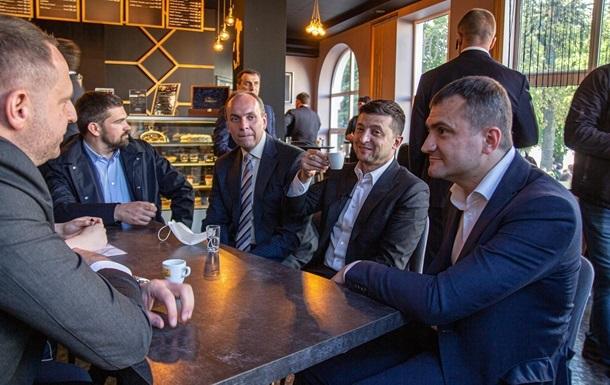 Зеленський пообіцяв заплатити штраф за каву в Хмельницькому