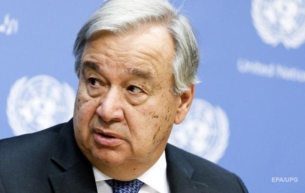 Украина присоединилась к призыву ООН о прекращении огня во всех странах