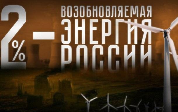 Возобновляемая энергия России