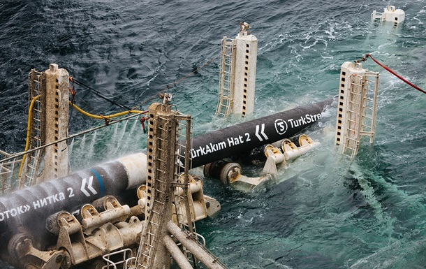 Россия остановила прокачку газа по Турецкому потоку