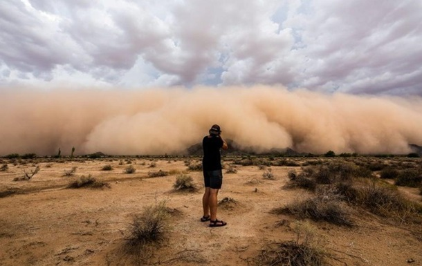 Облако пыли из Сахары накроет Мексику