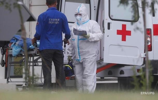В России почти 600 тысяч случаев коронавируса
