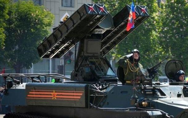 Бойовики мають намір використати парад Перемоги в Луганську як прикриття для пер