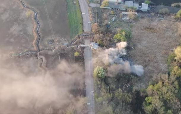 На відео показали знищення позиції сепаратистів в ООС