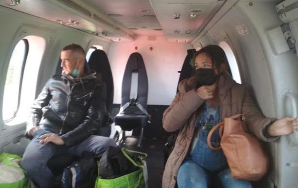 На Прикарпатье вертолетом эвакуировали роженицу
