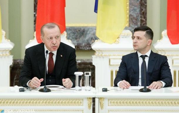 Зеленский и Эрдоган ускорят торговые переговоры