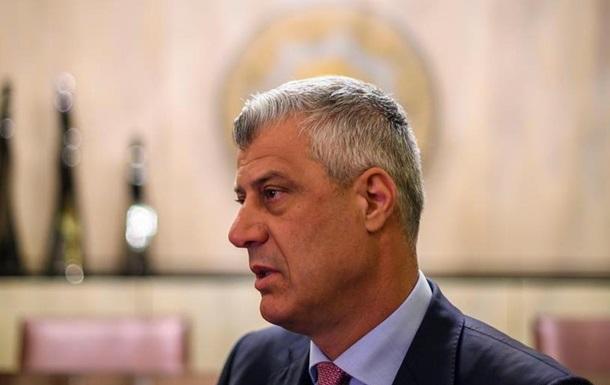 Президента Косова звинувачують у воєнних злочинах