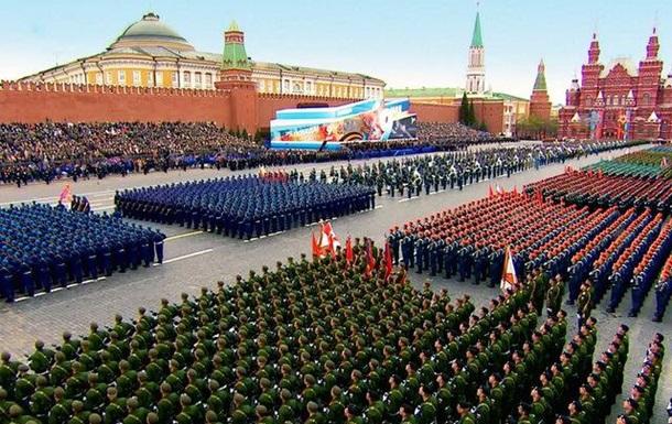 Парад Победы в Москве - они за ценой не постояли