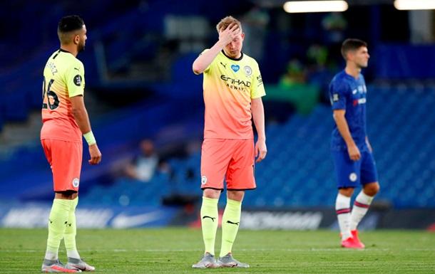 Ман Сити проиграл Челси и сложил с себя чемпионские полномочия