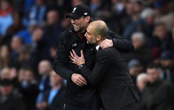 Манчестер Сити поздравил Ливерпуль с победой в АПЛ