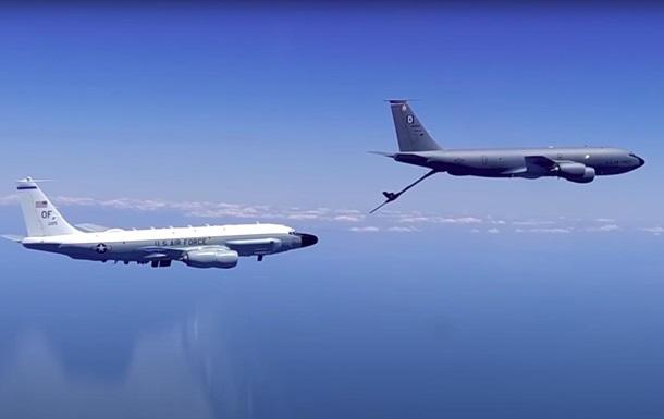 Су-30 перехватил самолеты ВВС США над Черным морем