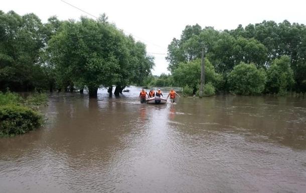 ГСЧС эвакуировала 1656 человека из зоны паводков