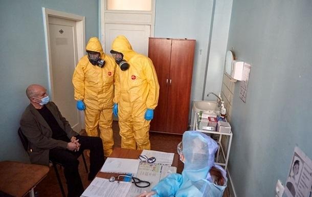 В Украине снизился прирост больных COVID