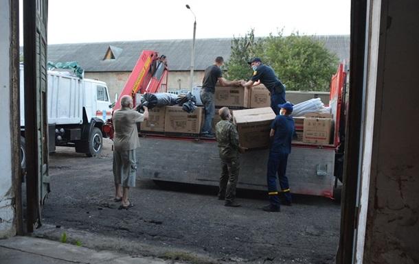 Молдова передала гуманитарную помощь для Буковины