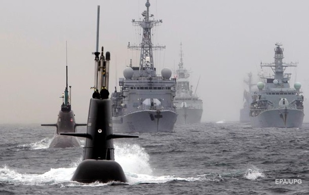 NATO naval exercises start in the North Atlantic