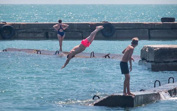 В Одесі на п яти пляжах вода не відповідає нормативам